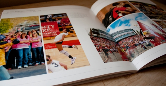 Creating space within the pages to let the text and images stand out and take notice.