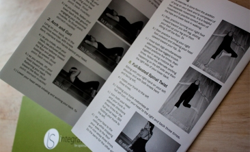 Brochure illustrating several exercises known in the Hanna Somatics body movement system along with detailed instruction.