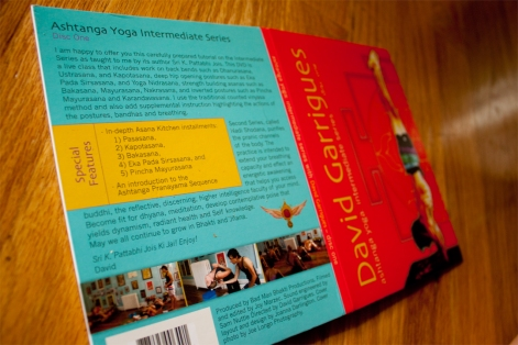 Back cover featuring images of DVD content.